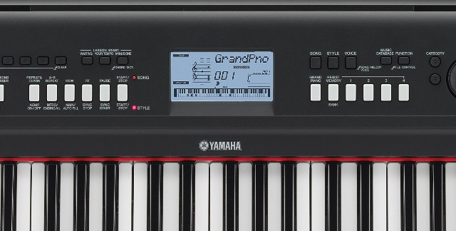 yamaha np v80 npv80 piaggero keyboard piano klavier. Black Bedroom Furniture Sets. Home Design Ideas