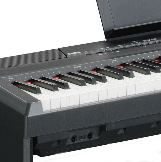 yamaha p105 b schwarz e piano p 105 stage digital klavier. Black Bedroom Furniture Sets. Home Design Ideas