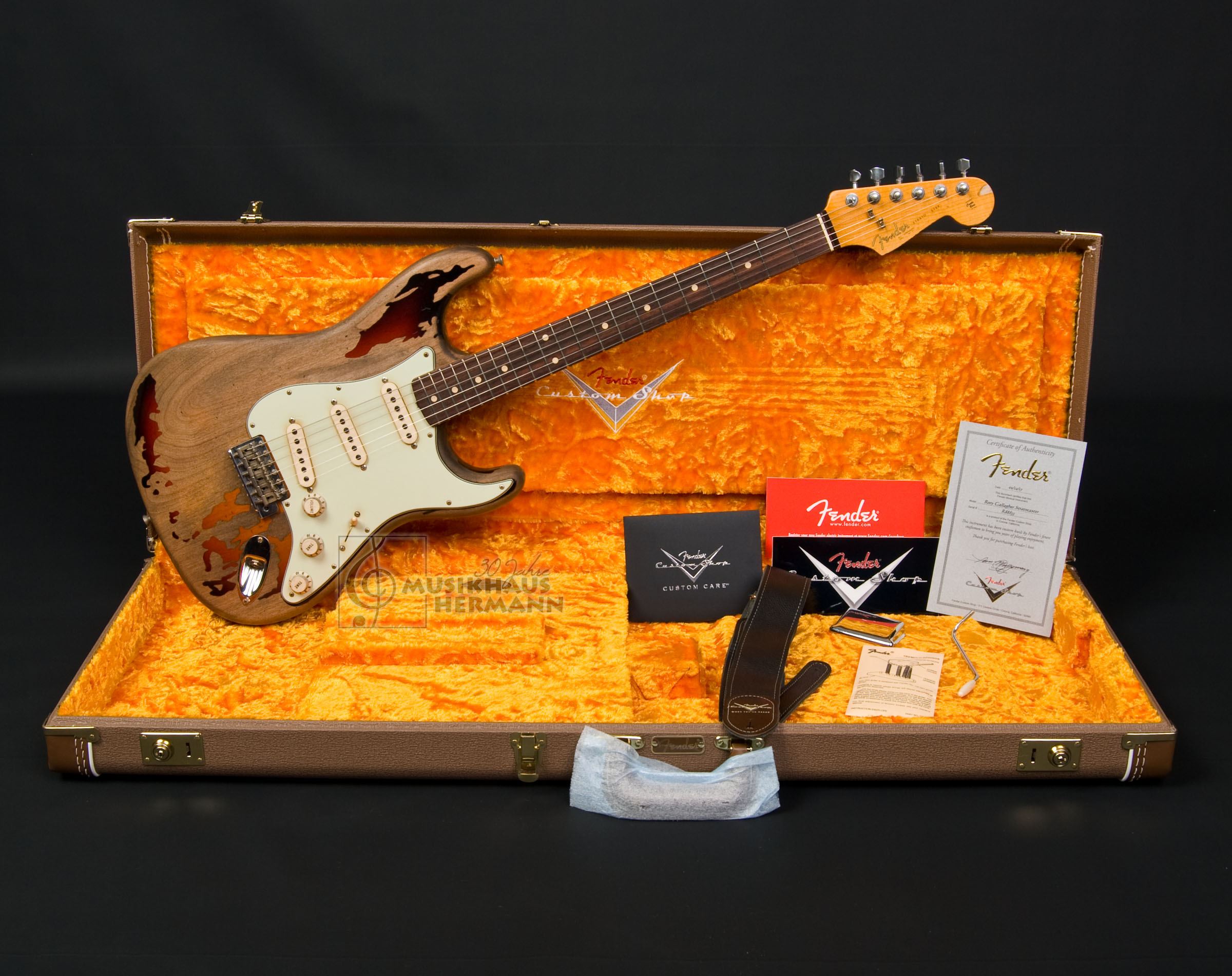 Fender Custom Shop Rory Gallagher Stratocaster | Musikhaus Hermann ...