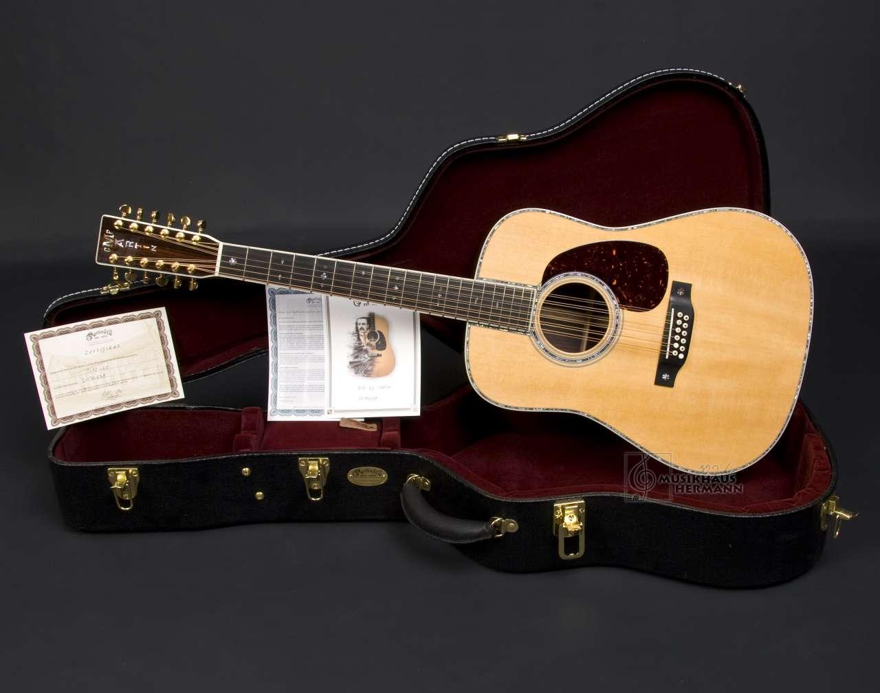 Martin D12-42 Cocobolo Custom - 12-String