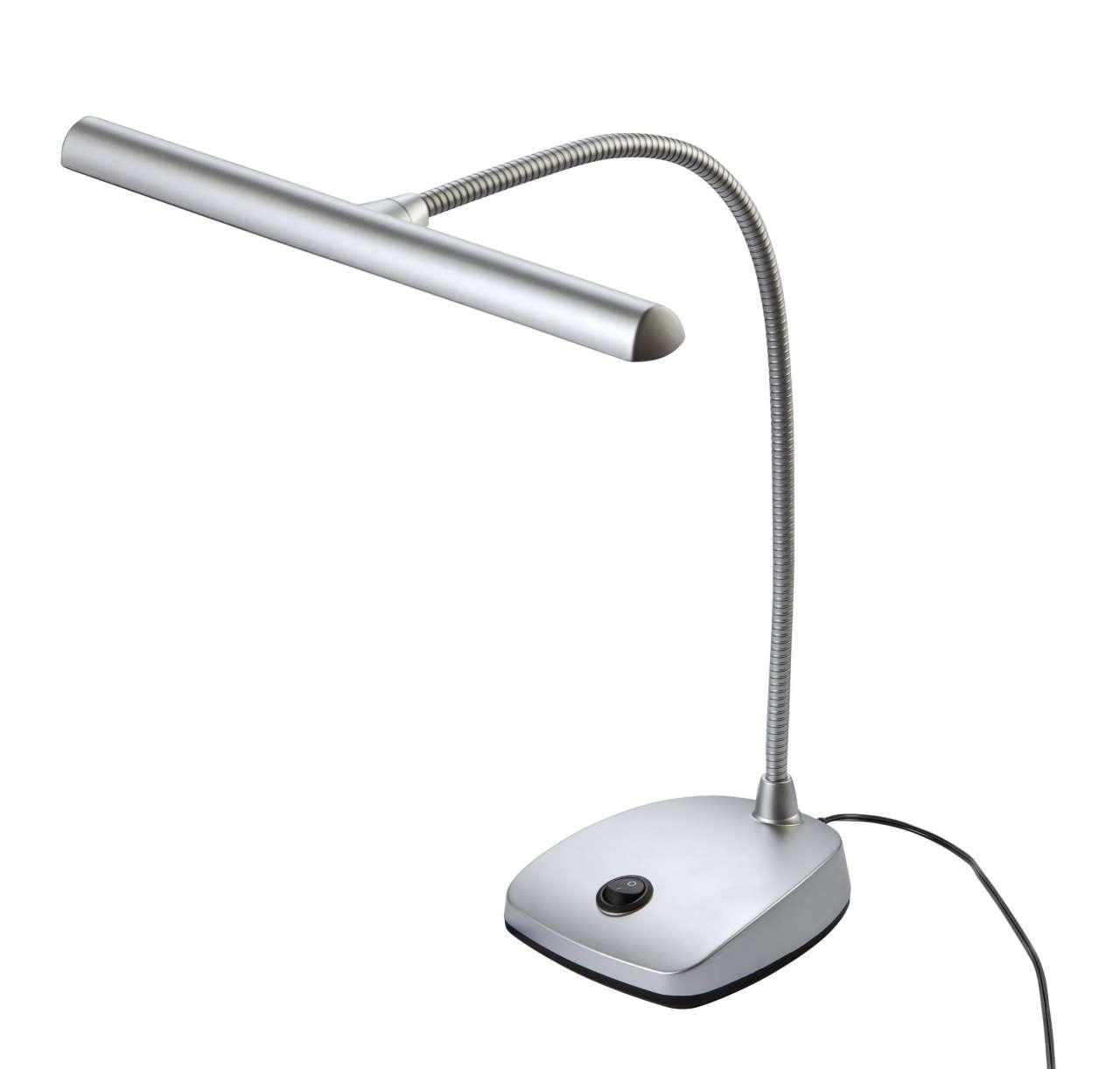 König & Meyer Pianolampe LED K&M 12297 - Chrome 12297-000-63