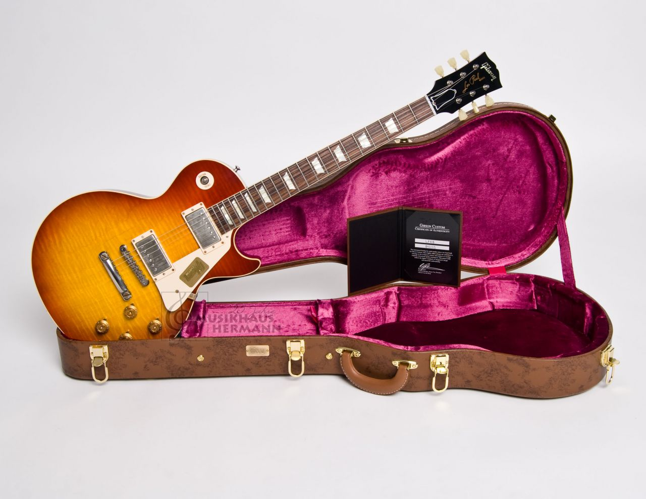 Gibson Les Paul 1958 Standard Historic VOS - Washed Cherry LPR84VOWCNH1