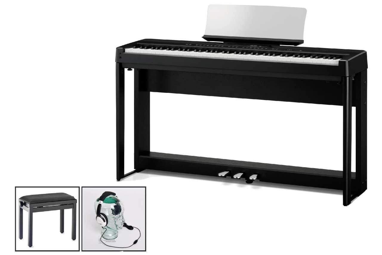 Kawai ES-520 B schwarz - Home Set ES520B Home Set