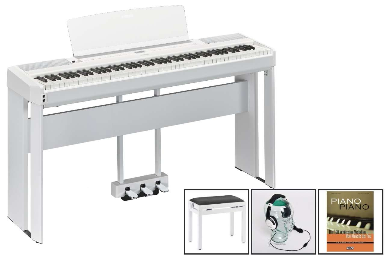 Yamaha P-515 WH Weiss - Home Design Set P-515WH HomeDesign