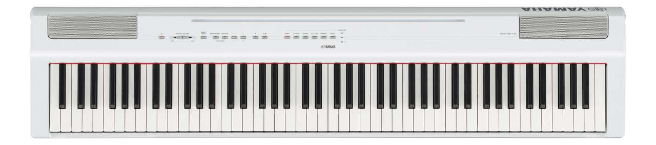 Yamaha P-125 W White - transportables Piano P-125W