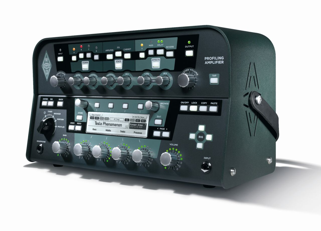 Kemper Profiler Amplifier Profiling Head - Black Kemper Profiler Head Black