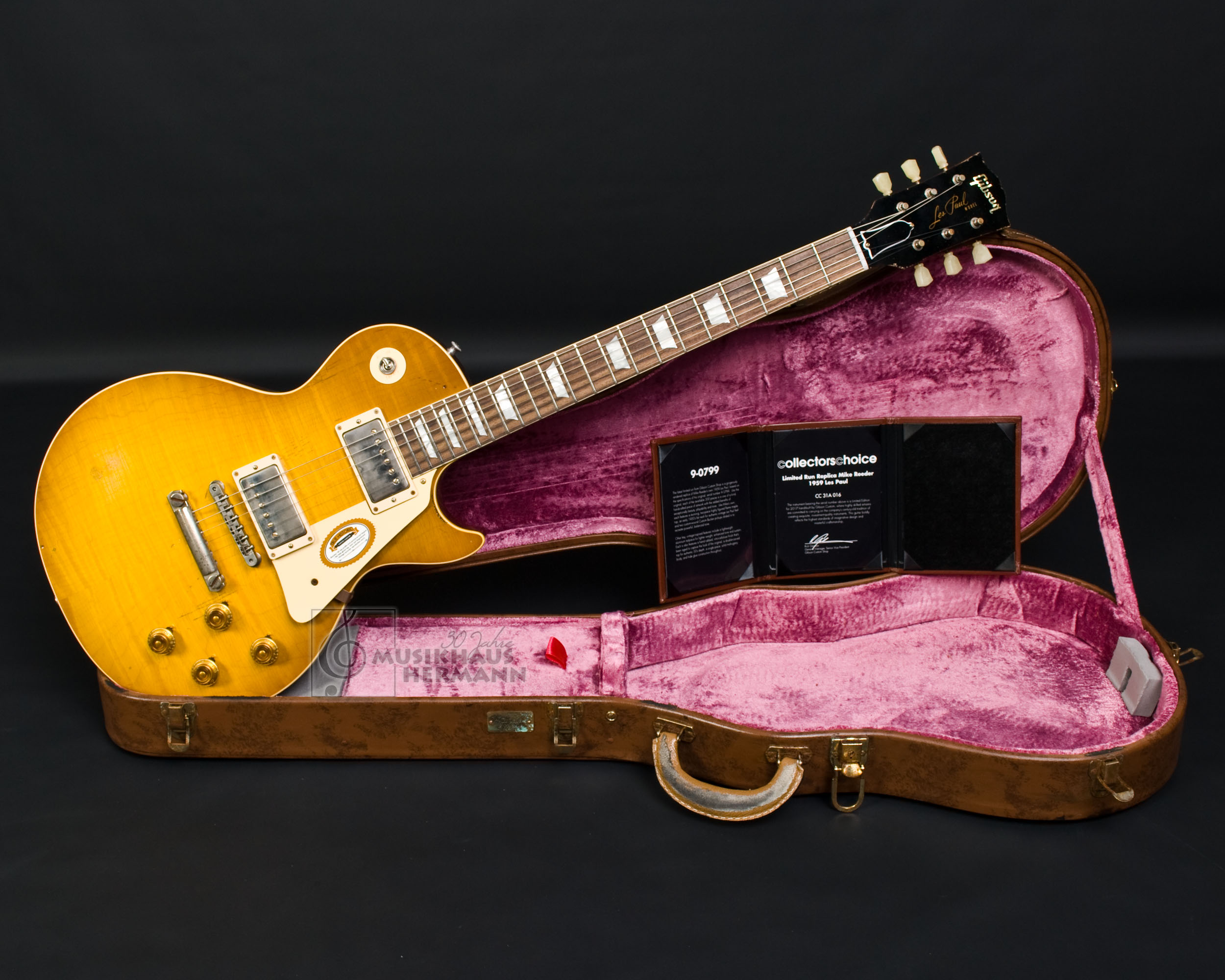 Gibson Les Paul 1959 CC31 Collectors Choice 31 Mike Reeder