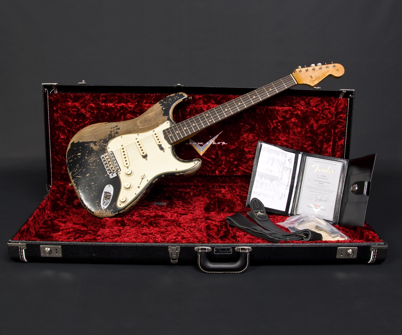 Fender Masterbuilt Jason Smith 1963 Stratocaster 2018 | Musikhaus ...