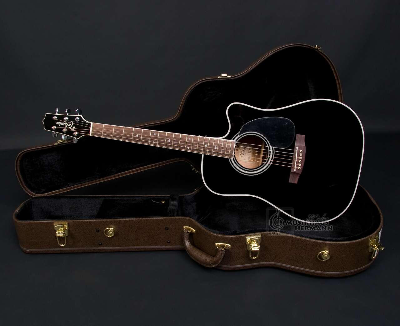 Takamine EF341SC Bruce Springsteen - schwarz TAEF341SC