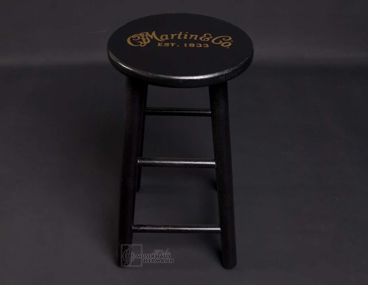 C.F. Martin Barhocker Hocker für Gitarre - Holz schwarz 18N0254