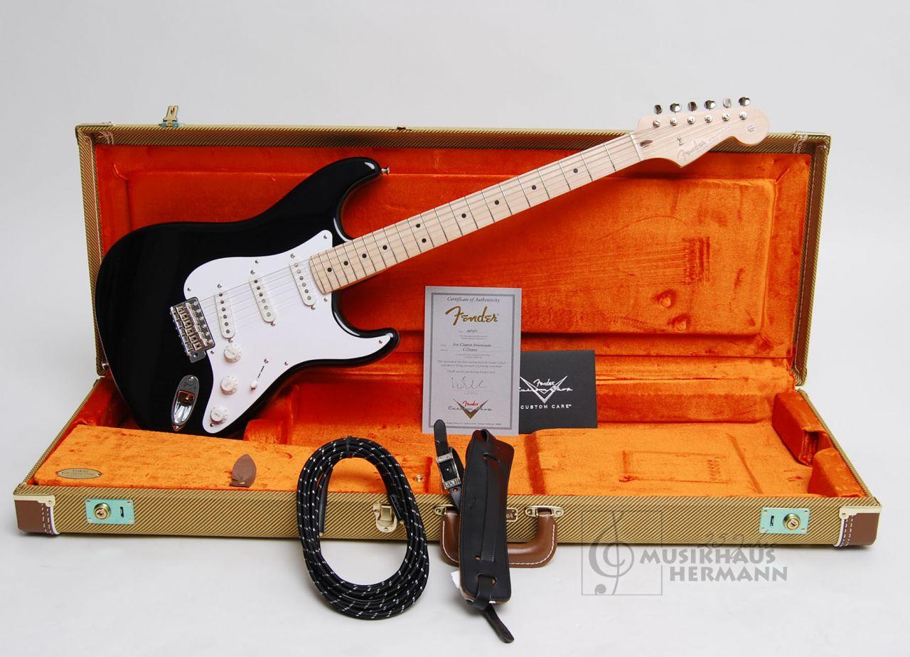 Fender Custom Shop Eric Clapton Stratocaster - Black 015-0082-806
