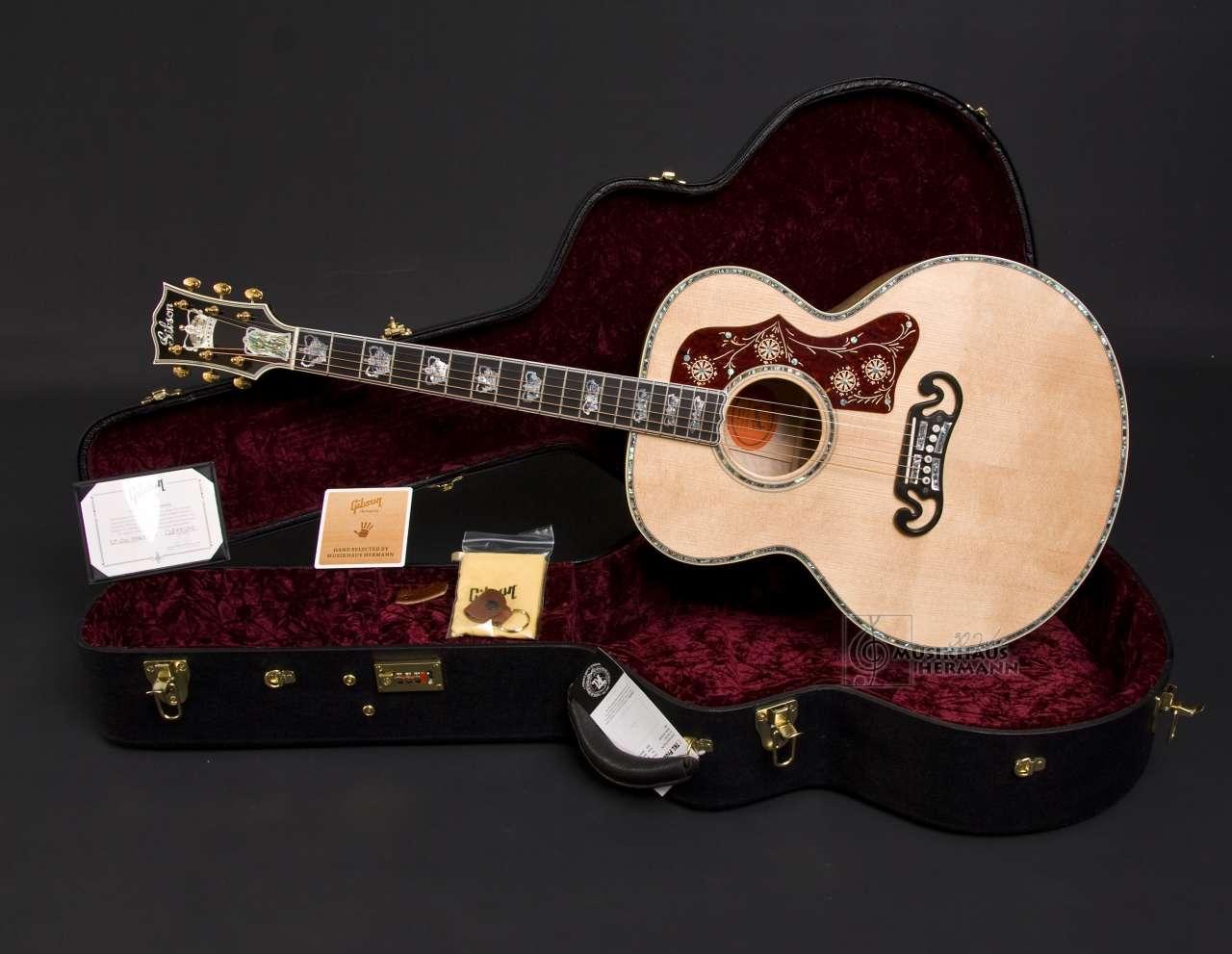 Gibson SJ-200 Monarch Mastershop - Antique Natural J2MANGH8