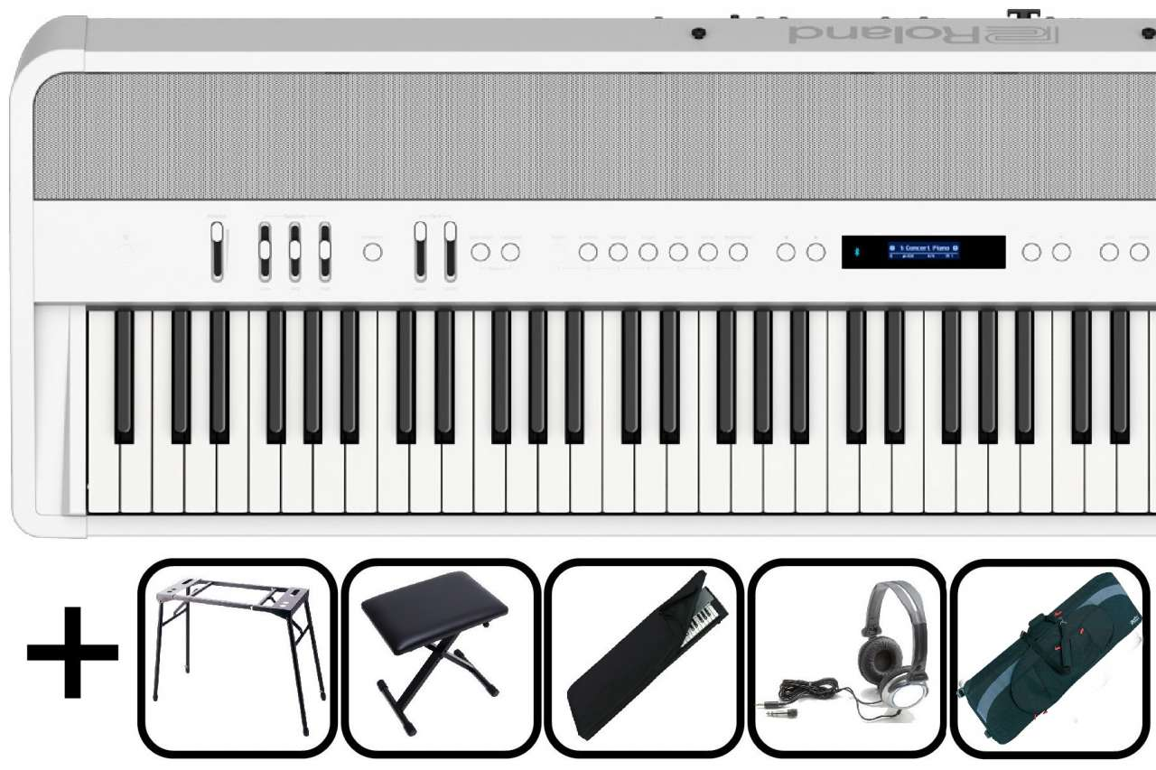 Roland FP-90X WH weiss - Stage Set FP-90X-WH Stage Set