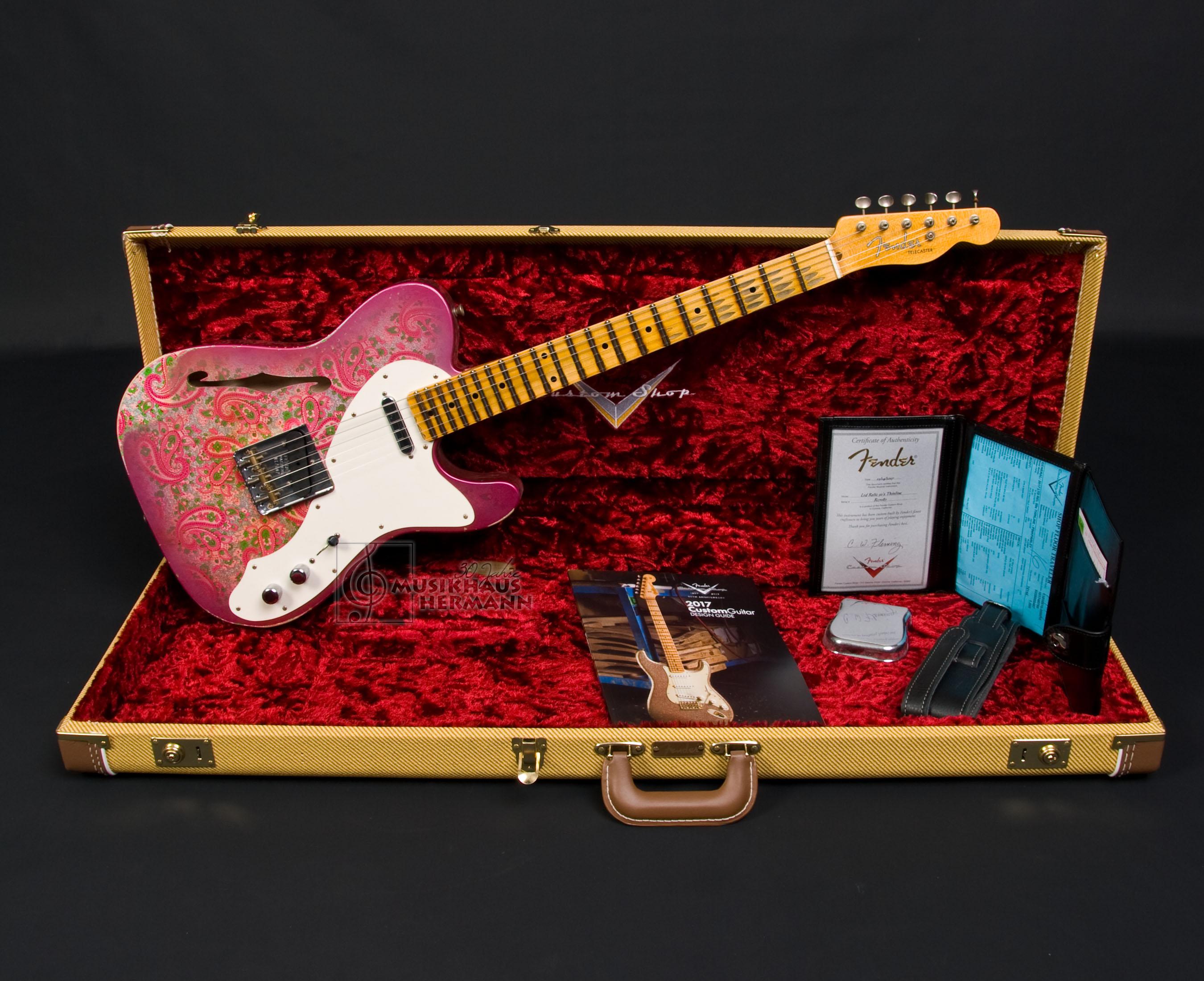 Fender Custom Shop LTD 50 s Telecaster Thinline