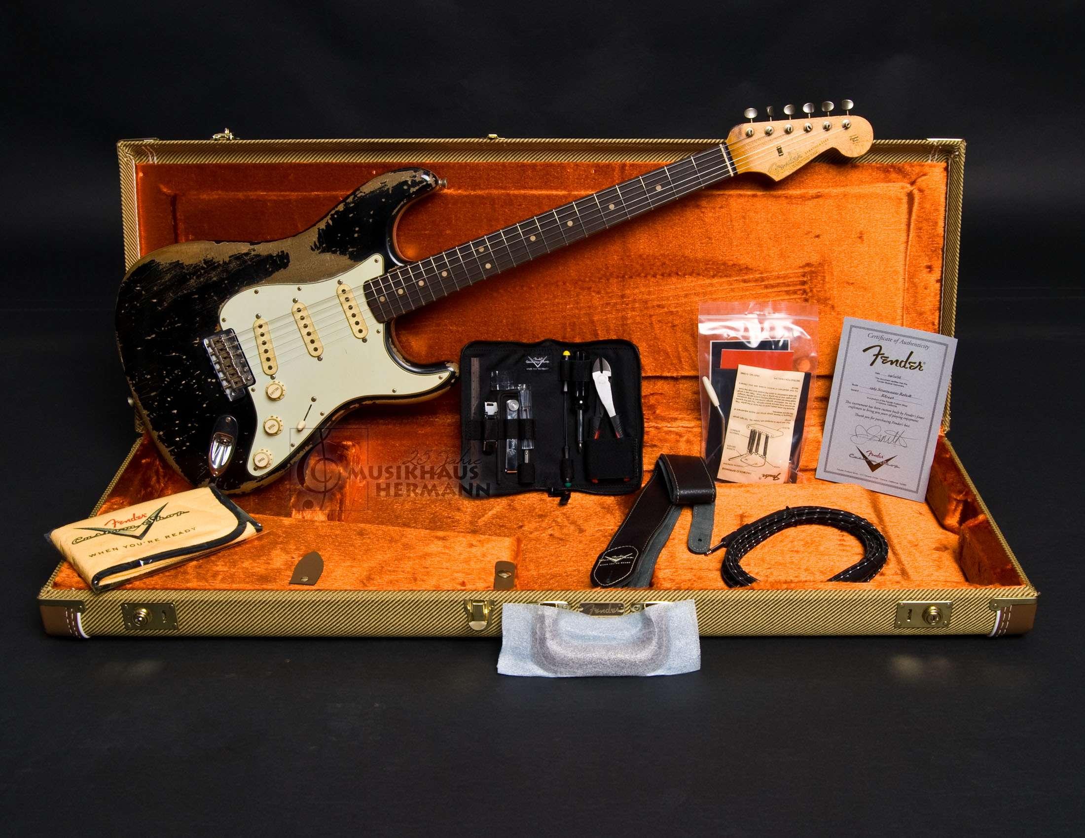 Beste Fender Stratocaster Doppelhals Gitarrenkabel Zeitgenössisch ...