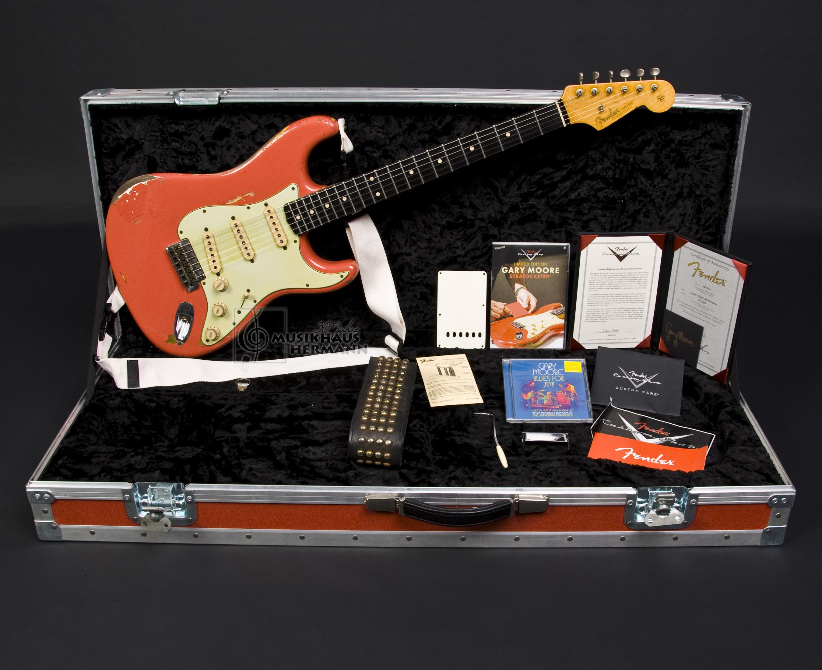 Fender Custom Shop GARY MOORE Stratocaster Masterbuilt John Cruz - GM Strat