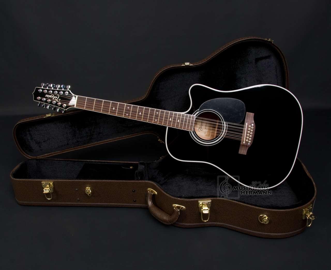 Takamine EF381SC Bruce Springsteen - schwarz - 12-String TAEF381SC