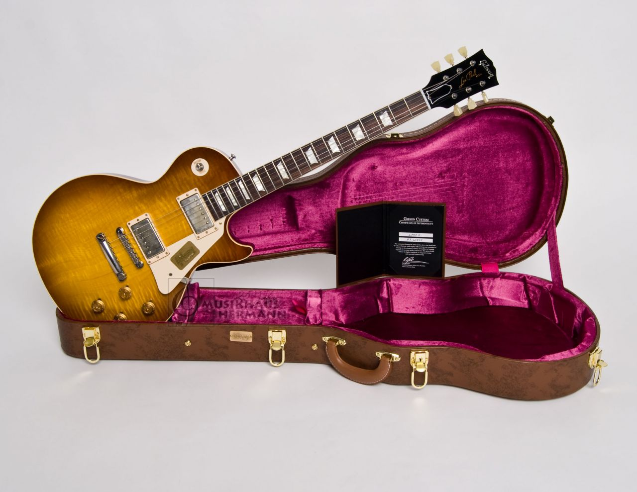 Gibson Les Paul 1958 Standard Historic VOS - Ice Tea LPR84VOITNH1