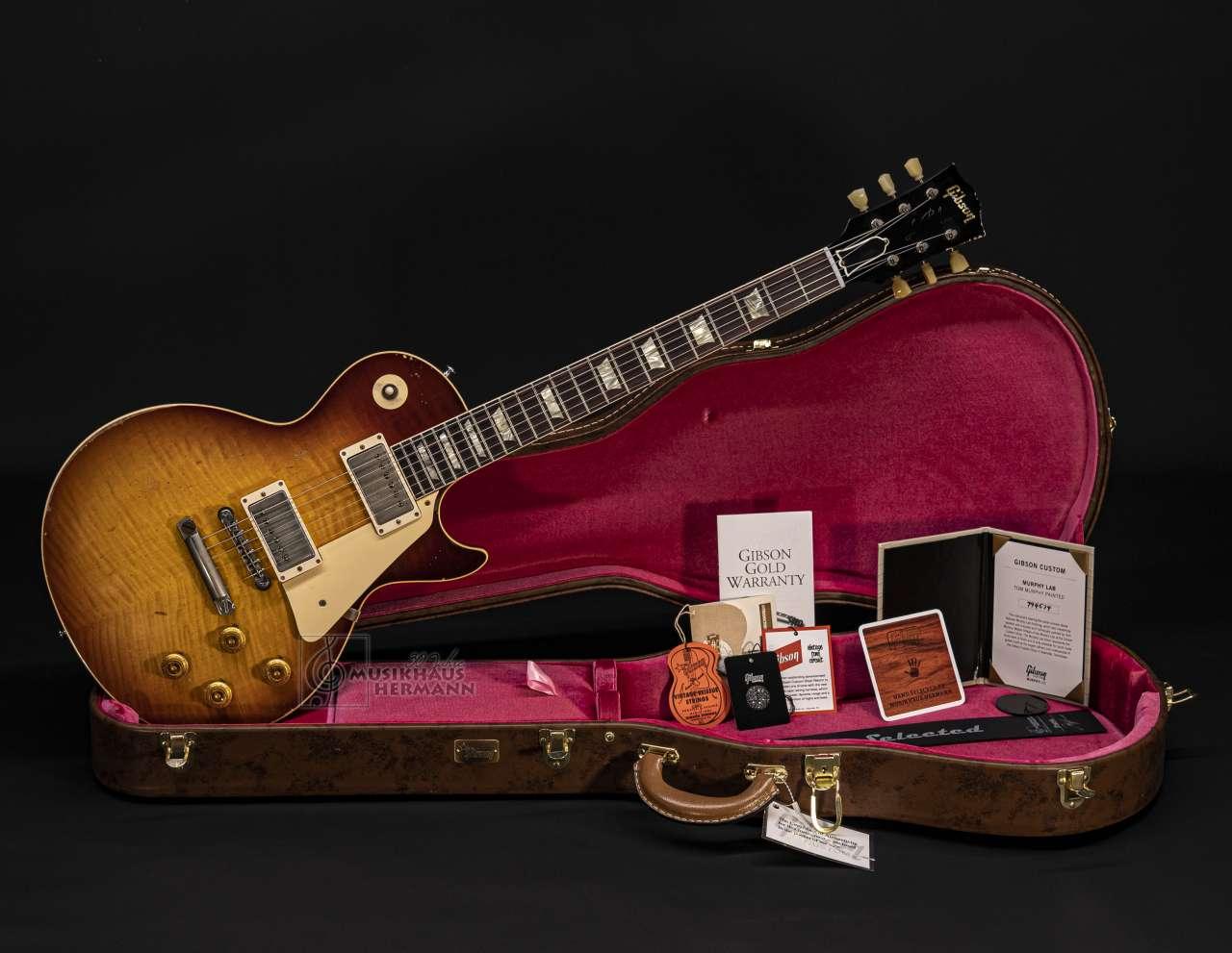 Gibson Les Paul 1959 Tom Murphy Painted & LAB Aged - Murphys TEA TIME LPR59M2M14524
