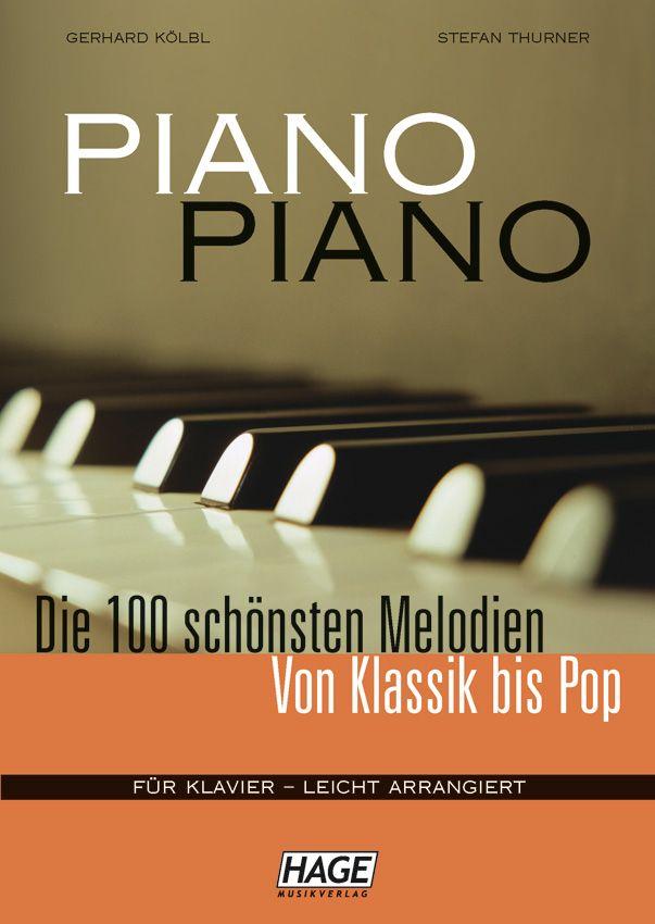 Sonstige Piano Piano - Die 100 schönsten Melodien von Klassik bis Pop eh3633