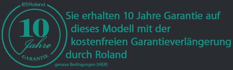 Roland Garantieverlängerung